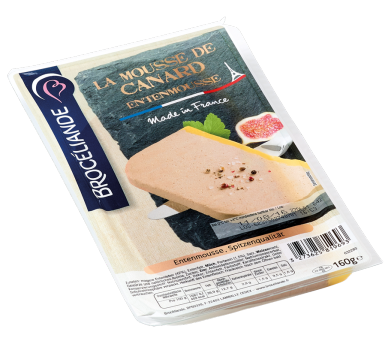 SUPERIOR DUCK LIVER MOUSSE  – 160G