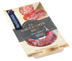 SLICED DRY SAUSAGE 100G